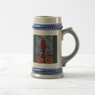 Harlequin By Paul Cézanne (Best Quality) Coffee Mugs