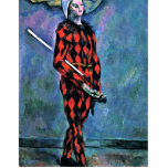 Harlequin By Paul Cézanne (Best Quality) Photo Cutouts
