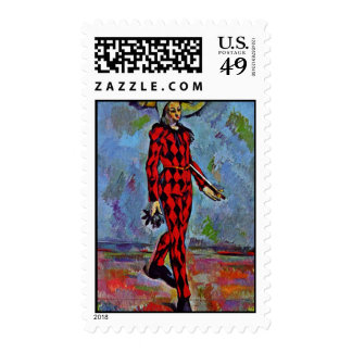Harlequin By Paul Cézanne (Best Quality) Stamps