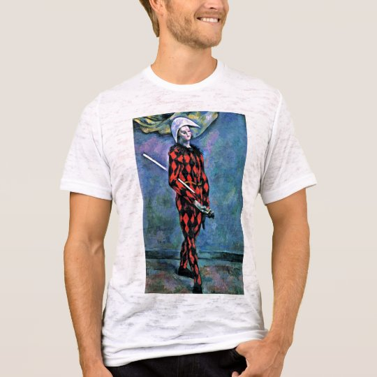 Harlequin By Paul Cézanne (Best Quality) T-Shirt