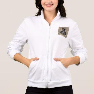 Harlequin Cat Grunge Jackets