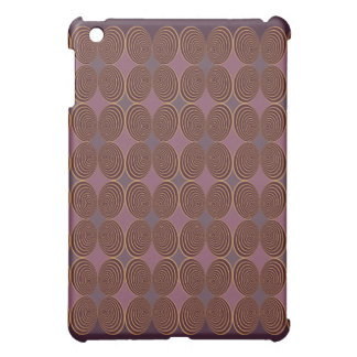 Harlequin Concentris Berry iPad Mini Cover