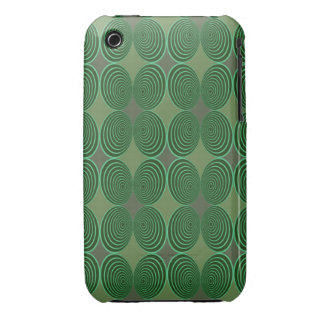 Harlequin Concentris Fir iPhone 3 Covers