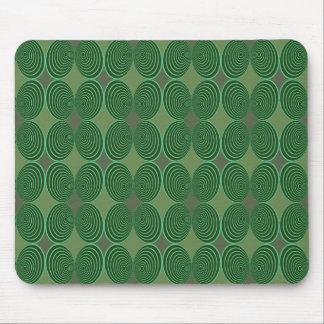 Harlequin Concentris Fir Mouse Pad