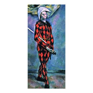 Harlequin de Paul Cézanne (la mejor calidad) Tarjetas Publicitarias Personalizadas