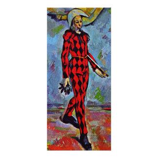 Harlequin de Paul Cézanne (la mejor calidad) Lona Publicitaria