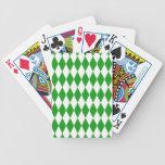 Harlequin Diamond Pattern Card Deck