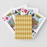 Harlequin Diamond Pattern Deck Of Cards