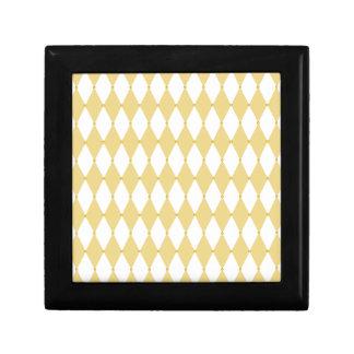 Harlequin Diamond Pattern Trinket Boxes