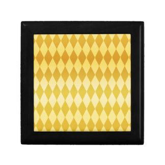 Harlequin Diamond Pattern Trinket Box
