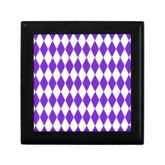 Harlequin Diamond Pattern Gift Box
