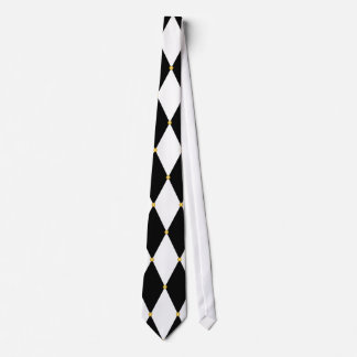 Harlequin Diamond Pattern Neck Tie