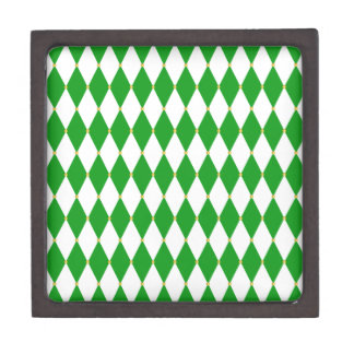 Harlequin Diamond Pattern Premium Gift Boxes