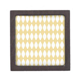Harlequin Diamond Pattern Premium Trinket Boxes