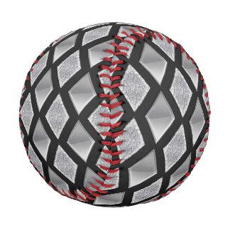 Harlequin Diamonds Background Customizable Baseball