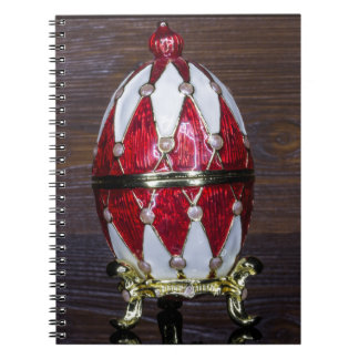 Harlequin egg notebook