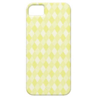 Harlequin en amarillo iPhone 5 carcasa