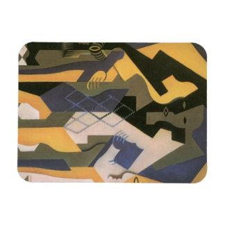 Harlequin en una tabla de Juan Gris, cubismo del Imanes De Vinilo