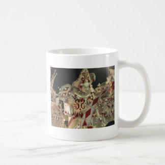 Harlequin float at carnaval in Rio Classic White Coffee Mug