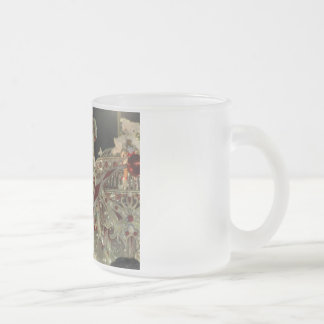 Harlequin float at carnaval in Rio Frosted Glass Coffee Mug