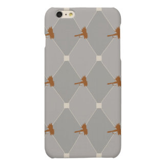 Harlequin Fly Fishing Lures Pattern Matte iPhone 6 Plus Case