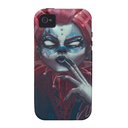 Harlequin glorybower Case-Mate iPhone 4 covers