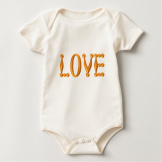 Harlequin Gold LOVE Baby Bodysuit
