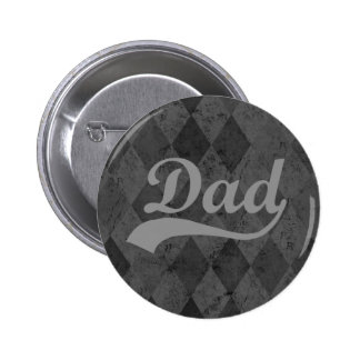 Harlequin Grey Shades Dad Buttons