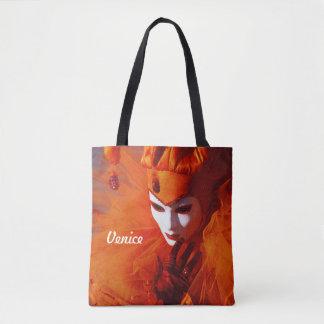 Harlequin hermoso bolsa de tela