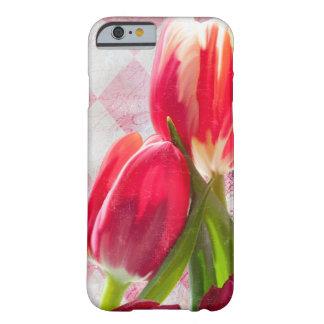 Harlequin hot Pink, Cream Tulip iPhone 6 case