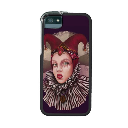 Harlequin Jester Case For iPhone 5