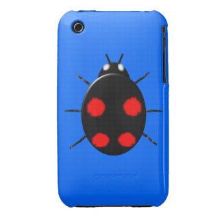 Harlequin Ladybird iPhone 3 Case