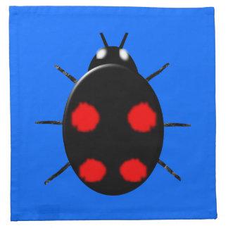 Harlequin Ladybird Napkin