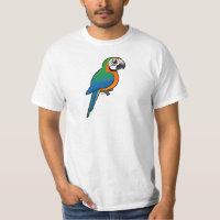Harlequin Macaw Men's Crew Value T-Shirt