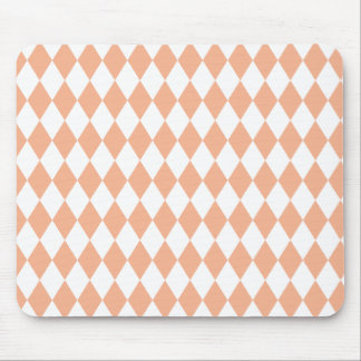 Harlequin Melon and White Mouse Pad