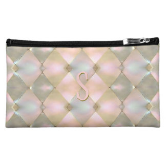 Harlequin Mother of Pearl (Personalized) Makeup Bag