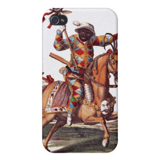 Harlequin on Horseback Cover For iPhone 4