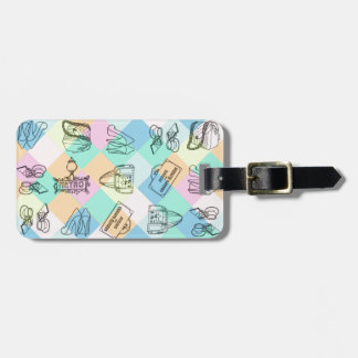 Harlequin Paris Shopping Tag For Bags