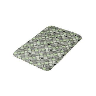 harlequin pattern bath mats zazzle. Black Bedroom Furniture Sets. Home Design Ideas