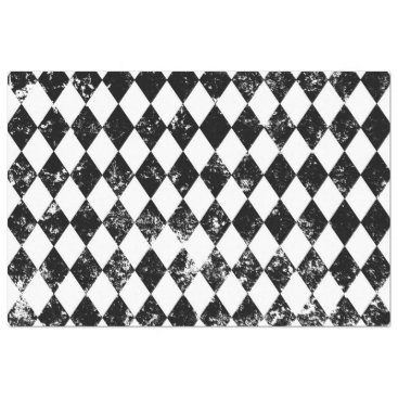 Harlequin Pattern Decoupage Paper