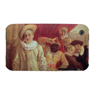 Harlequin, Pierrot and Scapin, Actors from the Com Case-Mate iPhone 3 Cases