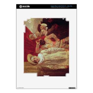 Harlequin, Pierrot y Scapin, actores de COM Pegatinas Skins Para iPad 3