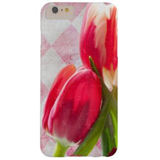 Harlequin Pink, Floral Tulip iPhone 6 plus case