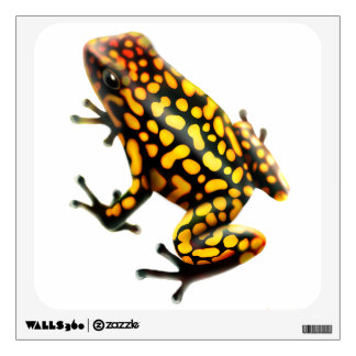 Harlequin Poison Frog Wall Decal