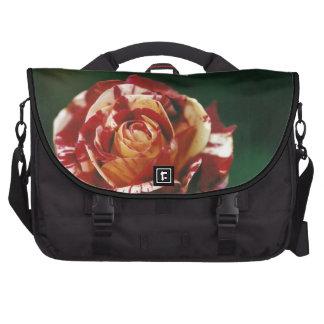 Harlequin Rose Laptop Bags