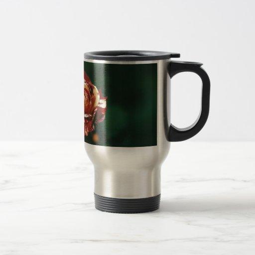 Harlequin Rose Travel Mug