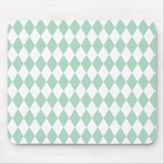 Harlequin Seafoam and White Mouse Pad