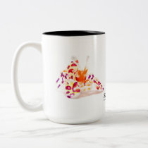 Harlequin Shrimp, Hymenocerca picta Two-Tone Coffee Mug