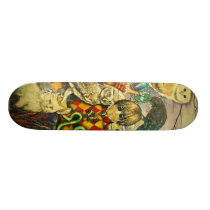 Harlequin Skateboard Deck