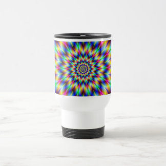 Harlequin Star Travel Mug